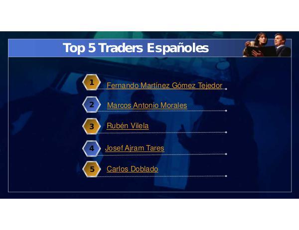 Los Gurues Financieros más Seguidos Top 5 Traders Españoles
