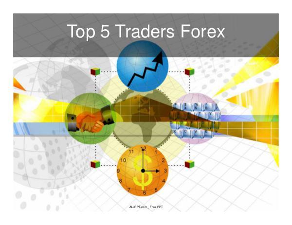 Los Gurues Financieros más Seguidos Top 5 traders forex
