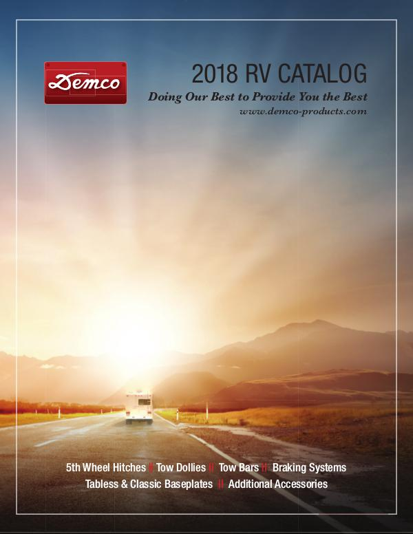 Demco RV Catalog 2018 Volume 38