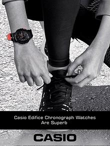 Casio Edifice Chronograph Watches are Superb