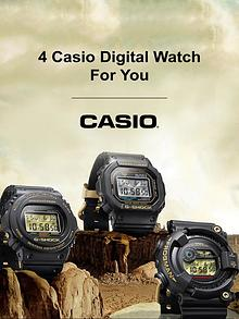 4 Casio Digital Watch for You