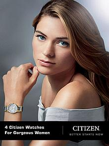 4 Citizen Watches for Gorgeous Women