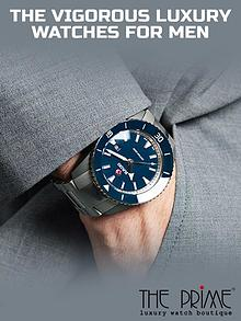 The Vigorous Luxury Watches for Men