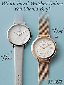 Which Fossil Watches Online You Should Buy?