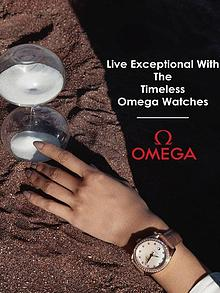 Live Exceptional With The Timeless Omega Watches