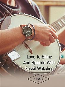 Love To Shine And Sparkle With Fossil Watches