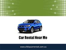 Car Rental Near Me Now