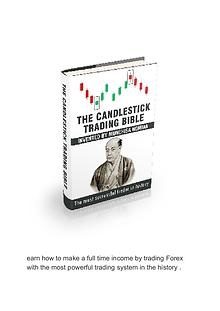 PDF Book Download - The Candlestick Trading Bible