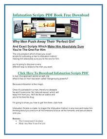 Clayton Max :Infatuation Scripts PDF eBook Free Download