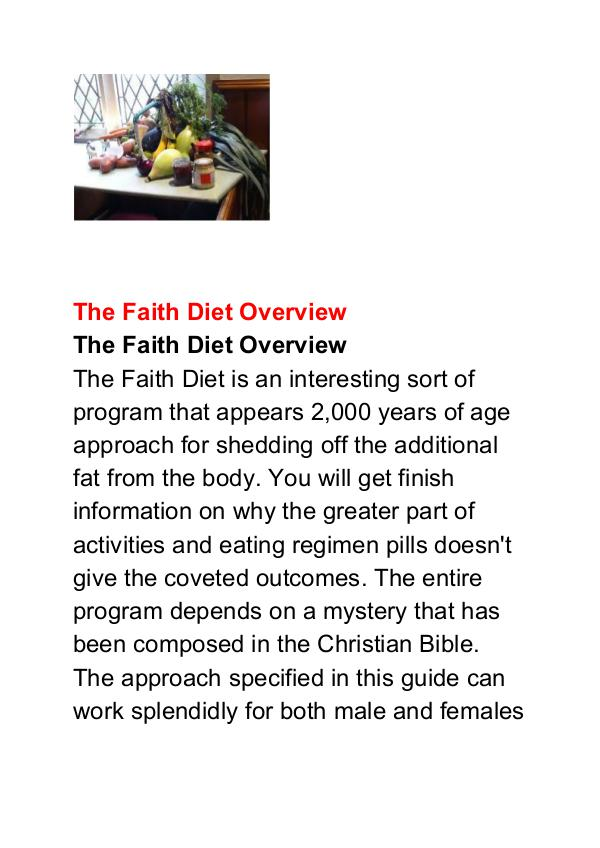 Father Christopher White:The Faith Diet PDF Book Free Download The Faith Diet PDF Free Download