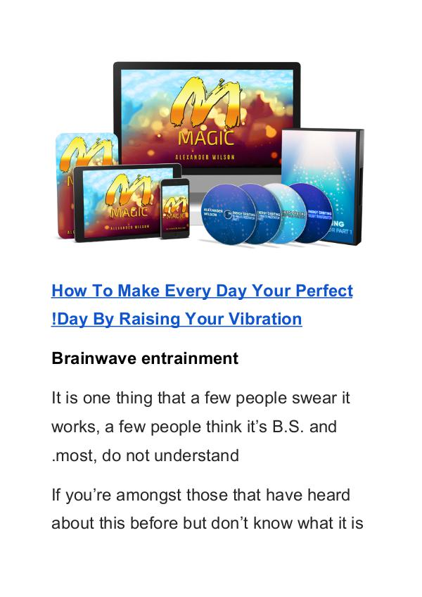 Alexander Wilson:Manifestation Magic PDF eBook Free Download Manifestation Magic PDF Free Download