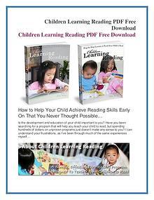Jim Yang: Children Learning Reading PDF eBook Free Download