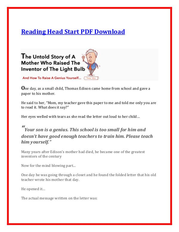 Sarah Shepard:Reading Head Start PDF Ebook Free Download Reading Head Start PDF  Free Download