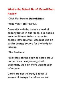 Detoxil Burn Coupon Code Buy Detoxil Burn Special Discount