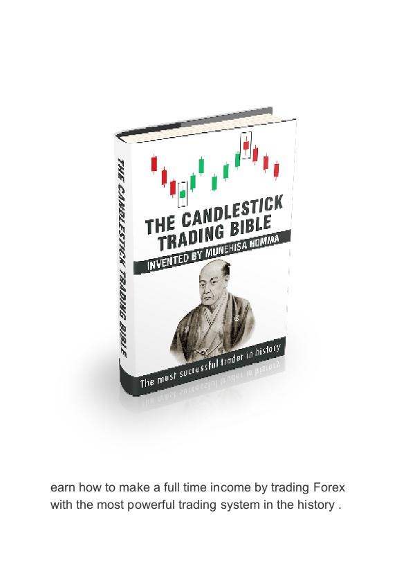 PDF The Candlestick Trading Bible Ebook [Free Download] Munehisa Homma Candlestick Trading Bible PDF Free