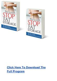 Janet Hadvill:Stop Fat Storage System PDF Ebook Free Download