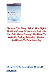 David Sinick: Primal Sleep System PDF eBook Free Download