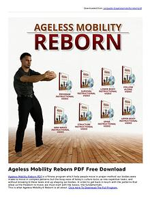 Gwint Fesher:Ageless Mobility Reborn PDF eBook Free Download