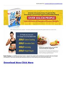 Ryan Young: Fat Loss Miracle System PDF eBook Free Download