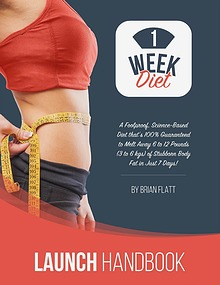 Brian Flatt: The 1 Week Diet PDF eBook Free Download