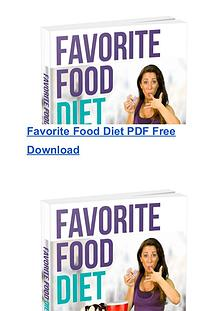 Chrissie Mitchell:The Favorite Food Diet PDF Ebook Free Download