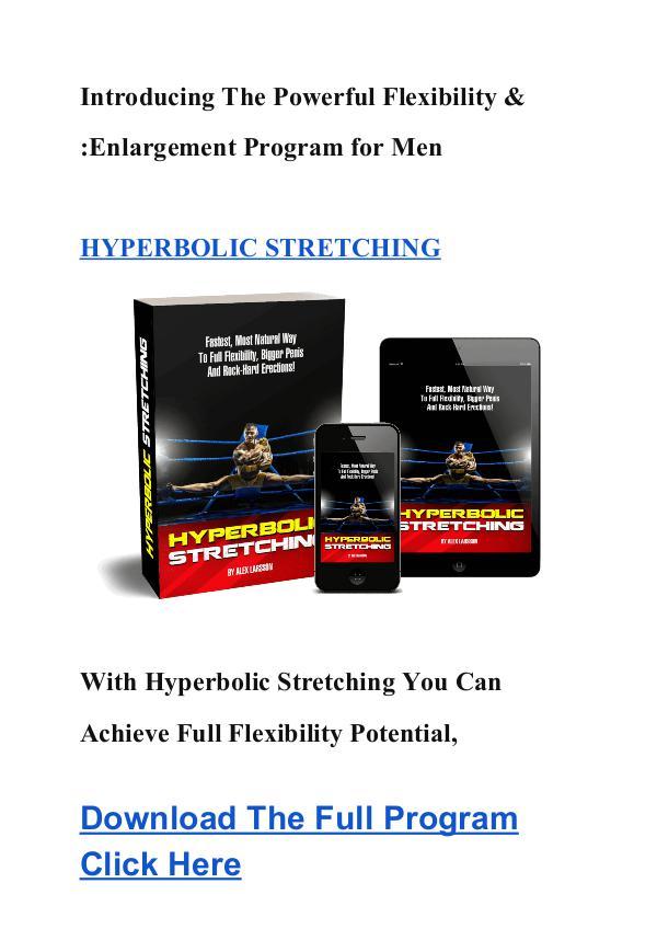 Alex Larsson:Hyperbolic Stretching PDF Ebook Free Download Hyperbolic Stretching For Men & Women Alex Larsson