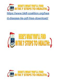 7 Step To Health and Heart Disease Lie PDF eBook Free Download