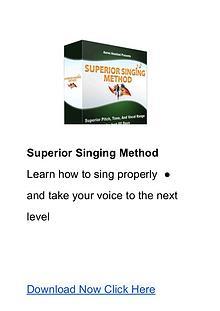 Aaron Anastasi:The Superior Singing Method PDF Ebook Free Download