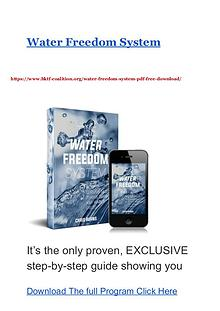 Water Freedom System Water Freedom PDF Ebook Free Download
