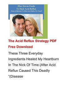 Scott Davis:The Acid Reflux Strategy PDF / Ebook Free Download