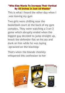 Vertical Jump Training Vert Shock Adam Folker PDF Ebook Free Download