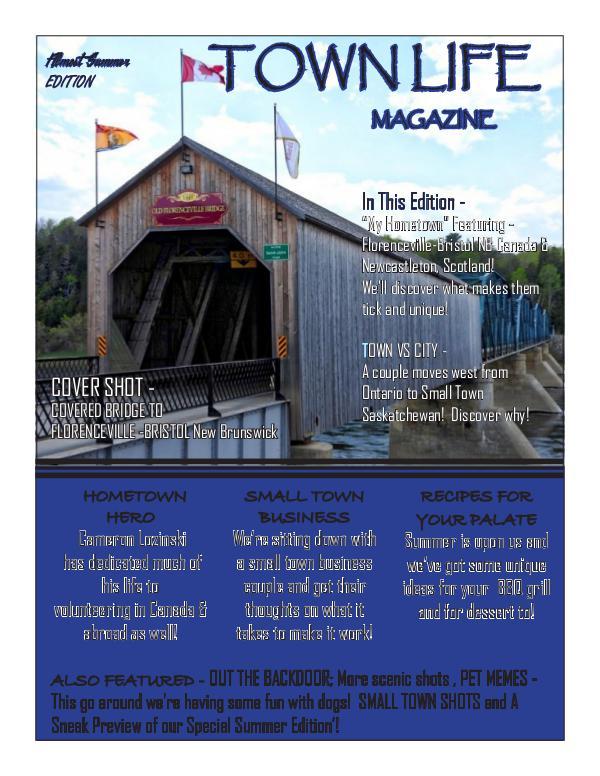 Town Life Magazine Summer Edition