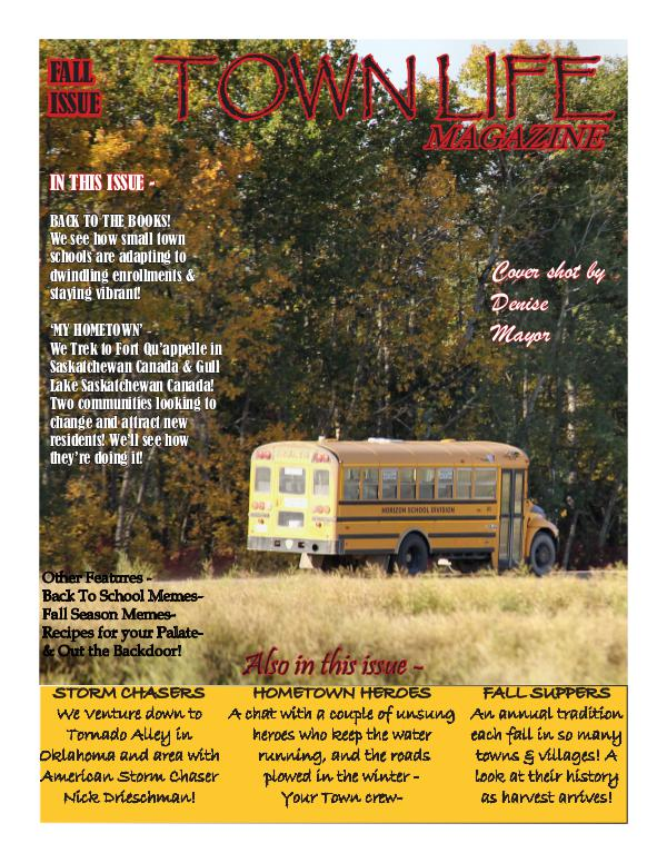 Town Life Fall Edition