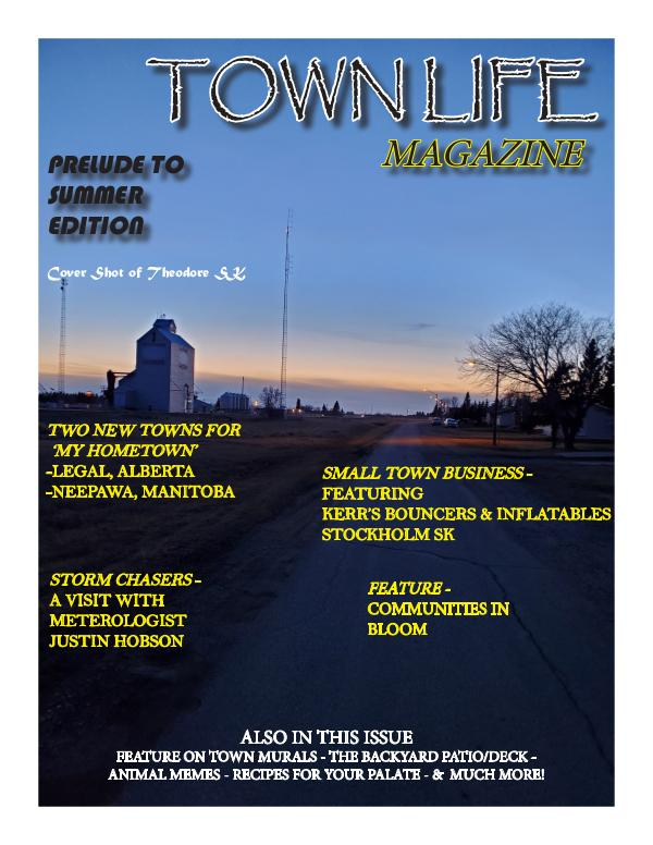 Town Life Magazine Prelude to Summer Edition