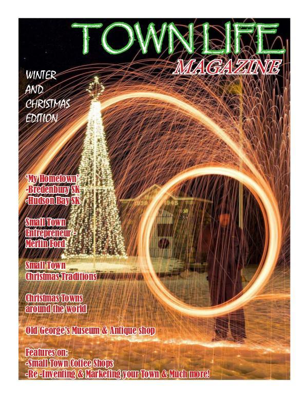 Town Life Magazine Winter and Christmas Edition
