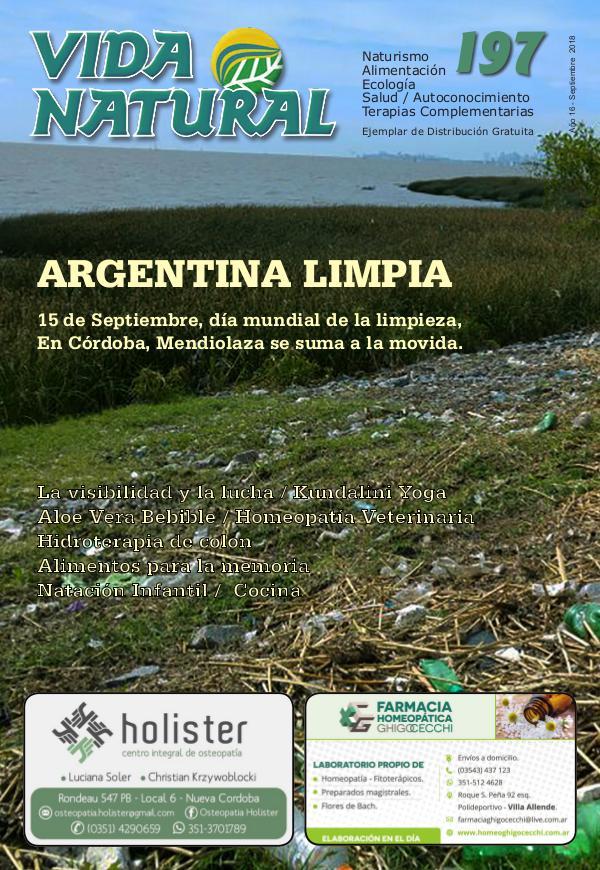 Revista Vida Natural Nro 197 - Septiembre 2018