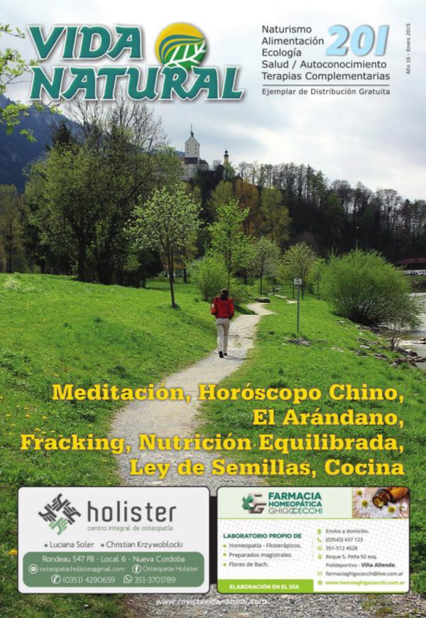 Revista Vida Natural Nro 201 - Enero 2019