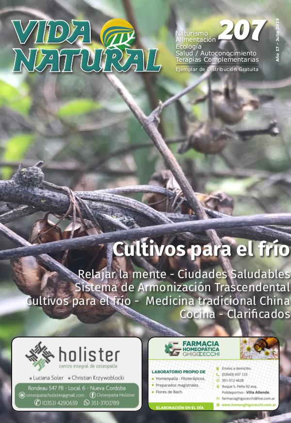 Revista Vida Natural Nro 207 - Julio 2019