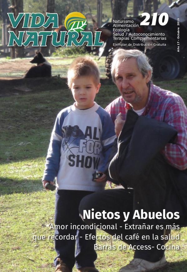 Revista Vida Natural Nro 210 - Octubre 2019