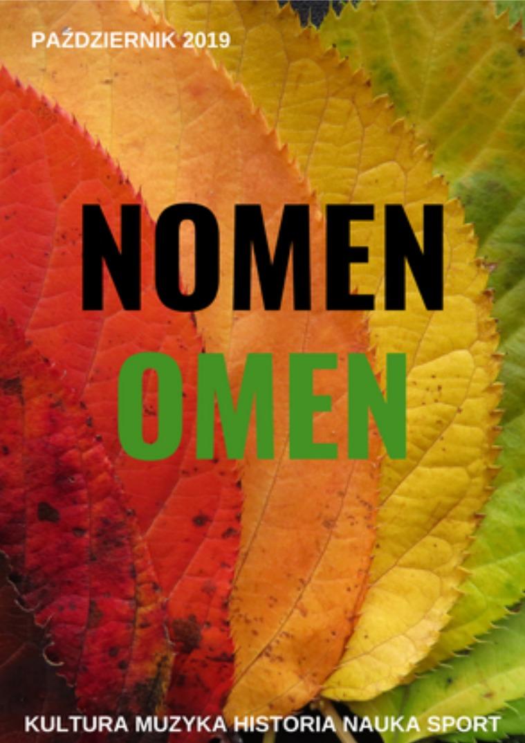 Nomen Omen Paźdzernik 2019