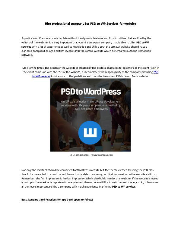 PSD to WordPress - How our WordPress web developers get it right PSD to WordPress - How our WordPress web developer