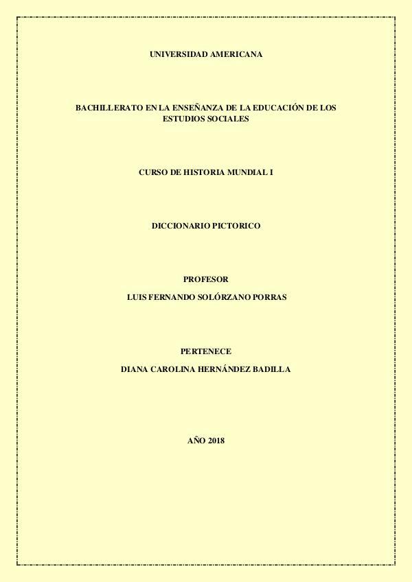 Mi primera revista DICCIONARIO PICTORICO DIANA