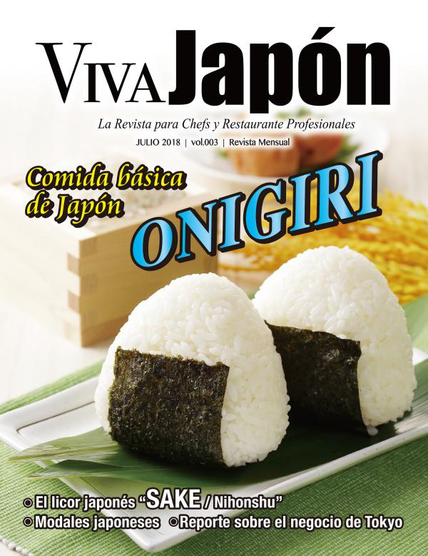 VIVA JAPÓN Julio issue vol.003