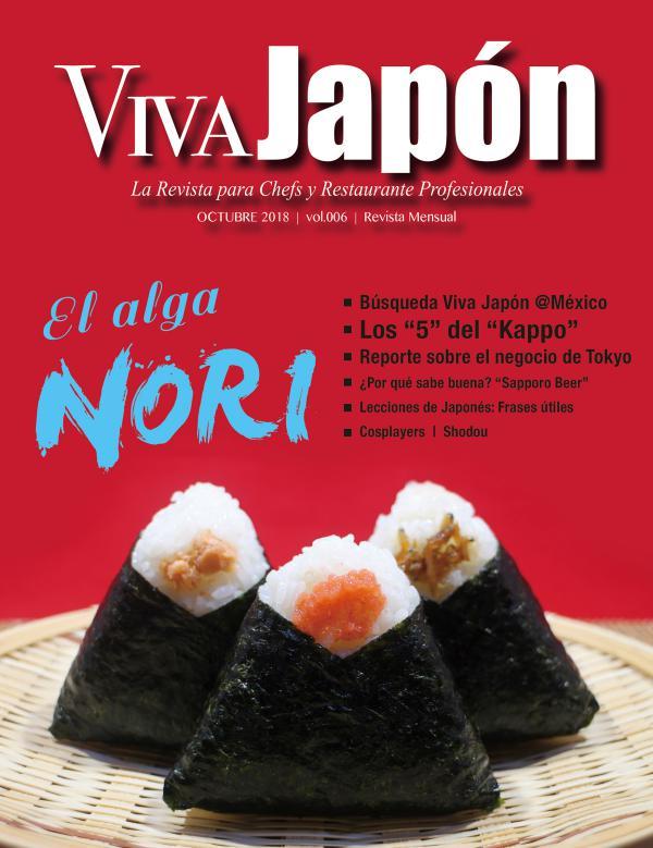 VIVA JAPÓN Octubre issue vol.006