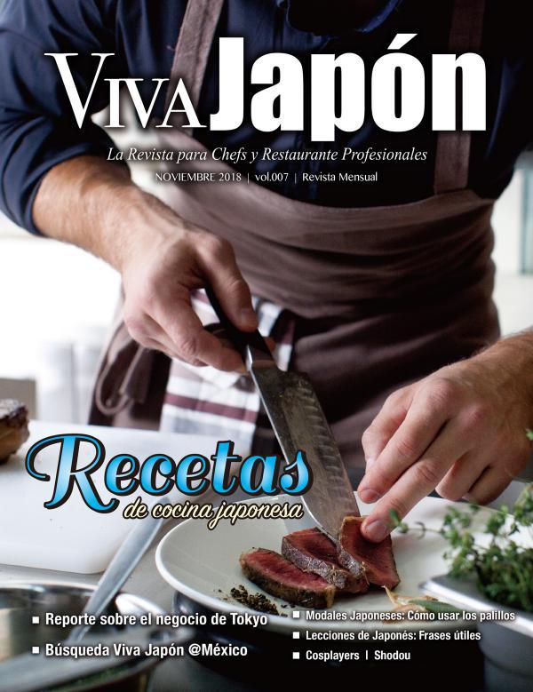 VIVA JAPÓN NOVIEMBRE issue vol.007