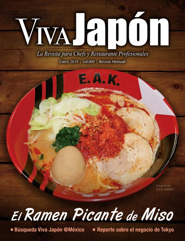 VIVA JAPÓN ENERO issue vol.009