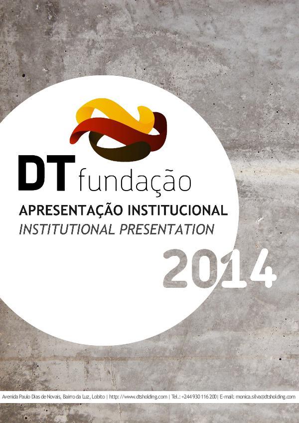 DT Foundation Booklet 2014 Booklet