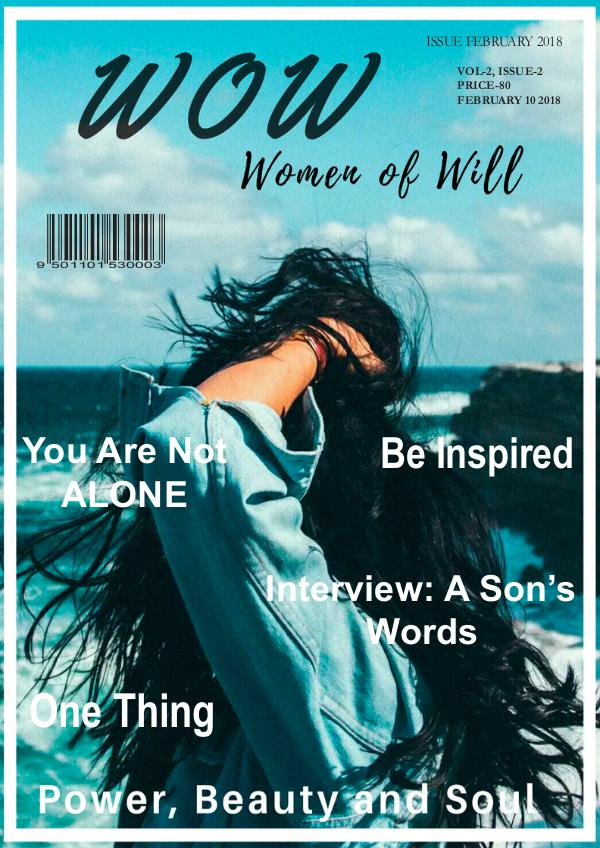 Single Mother - WOW (Women of WIll) Single Mother - WOW (Women of Will)