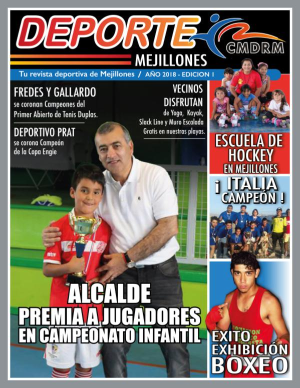 Deporte Mejillones revista deporte mejillones- edición descargable