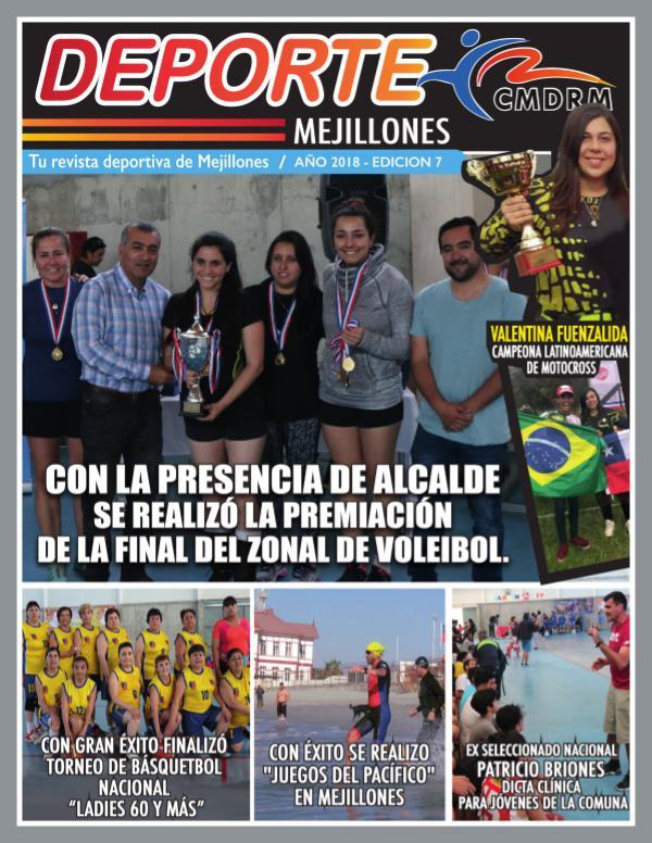 REVISTA DEPORTE MEJILLONES EDICION N7
